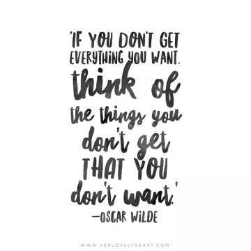'If you don't get everything you want.' Click through for more quotes, and find us on Instagram at #hlhinstaquotes